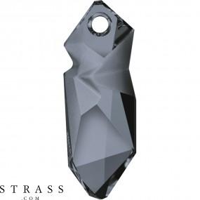 Swarovski Kristalle 6912 Crystal (001) Silver Night (SINI)