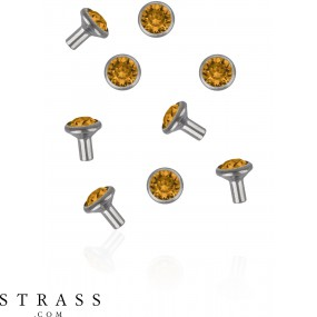 Swarovski Kristalle 53002 Topaz (203)