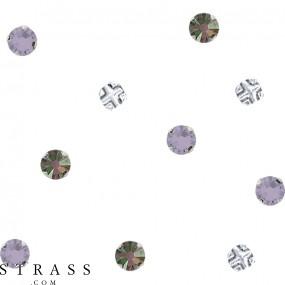 Swarovski Kristalle 53100 Light Siam (227) Shimmer (SHIM)