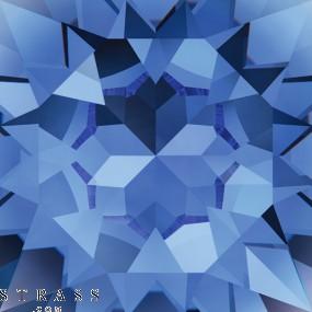 Swarovski Kristalle 53100 Sapphire (206)