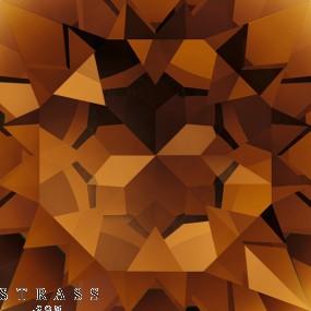 Swarovski Kristalle 4120 Smoked Topaz (220)