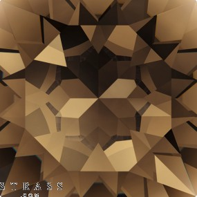 Swarovski Kristalle 4120 Smoky Quartz (225)