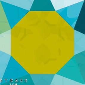 Swarovski Kristalle 2028 Blue Zircon (229) Aurore Boréale (AB)