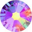 Swarovski Kristalle 2058 Fuchsia (502) Aurore Boréale (AB)
