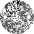 Swarovski Kristalle 3220 Crystal (001) Black Patina (BLAPA)