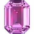 Swarovski Kristalle 4610 Amethyst (204)