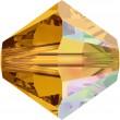 Swarovski Kristalle 5328 Topaz (203) Aurore Boréale (AB)