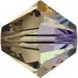 Swarovski Kristalle 5328 Smoky Quartz (225) Aurore Boréale (AB)