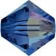 Swarovski Kristalle 5328 Capri Blue (243) Aurore Boréale (AB)