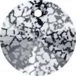Swarovski Kristalle 6428 Crystal (001) Black Patina (BLAPA)