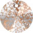 Swarovski Kristalle 6428 Crystal (001) Rose Patina (ROSPA)