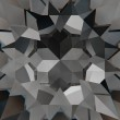Swarovski Kristalle 3008 Crystal (001) Silver Night (SINI)