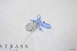 "Do it Yourself Set | DIY Tricot Set ""Broche"" avec Swarovski Crystals"