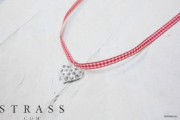 "Do it Yourself Set | DIY Tricot Set ""Collier"" avec Swarovski Crystals"