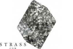 Cristaux de Swarovski 4739/B MM 14,0X 11,0 MARBLED BLACK (1039263)