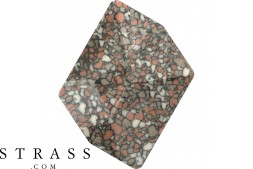 Cristaux de Swarovski 4739/B MM 20,0X 16,0 MARBLED TERRACOTTA (1074138)