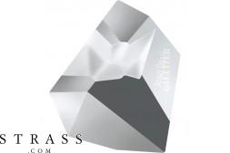 Cristaux de Swarovski 4922 Crystal (001) Light Chrome (LTCH)