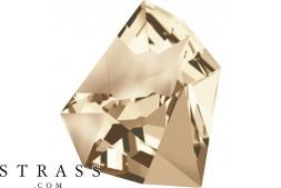 Cristaux de Swarovski 4923 Crystal (001) Golden Shadow (GSHA)