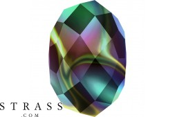 Cristaux de Swarovski 5040 MM 6,0 CRYSTAL RAINBODK2X (5262862)