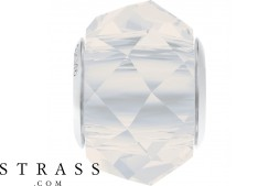 Cristaux de Swarovski 5948 MM 14,0 WHITE OPAL STEEL (1184581)
