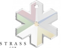 Cristaux de Swarovski 6704 MM 25,0 CRYSTAL AB (865080)