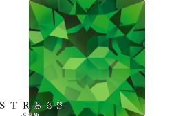 Cristaux de Swarovski 6301 MM 8,0 FERN GREEN (1063852)