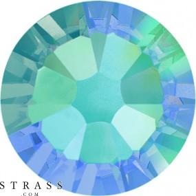 Cristaux de Swarovski 2058 Light Sapphire (211) Aurore Boréale (AB)