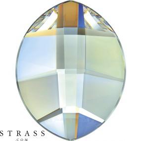 Cristaux de Swarovski 2204 Crystal (001) Aurore Boréale (AB)