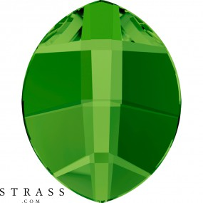 Cristaux de Swarovski 2204 Dark Moss Green (260)