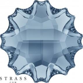 Cristaux de Swarovski 2612 Crystal (001) Blue Shade (BLSH)