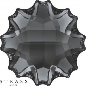 Cristaux de Swarovski 2612 Crystal (001) Silver Night (SINI)