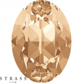 Cristaux de Swarovski 4120 Crystal (001) Golden Shadow (GSHA)