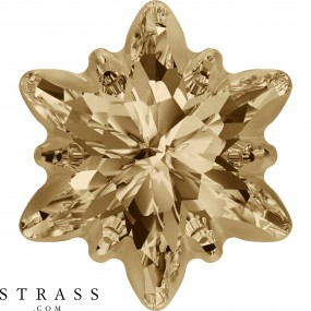 Cristaux de Swarovski 4753/G Crystal (001) Golden Shadow (GSHA)