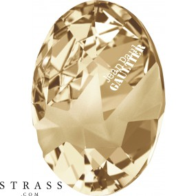 Cristaux de Swarovski 4920 Crystal (001) Golden Shadow (GSHA)