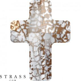 Cristaux de Swarovski 5378 MM 18,0 CRYSTAL ROSE-PAT (5125783)