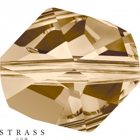 Cristaux de Swarovski 5523 Crystal (001) Golden Shadow (GSHA)