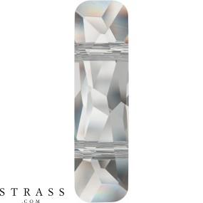 Cristaux de Swarovski 5535 Crystal (001) Rose Gold Both Sides (ROGL2X)