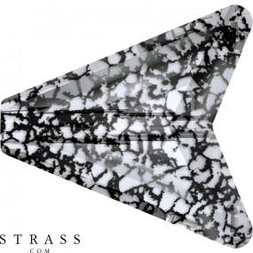 Cristaux de Swarovski 5748 Crystal (001) Black Patina (BLAPA)