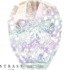 Cristaux de Swarovski 5750 Crystal (001) White Patina (WHIPA)