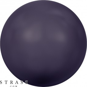 Cristaux de Swarovski 5810 Crystal (001) Dark Purple Pearl (309)