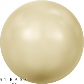 Cristaux de Swarovski 5810 Crystal (001) Light Gold Pearl (539)