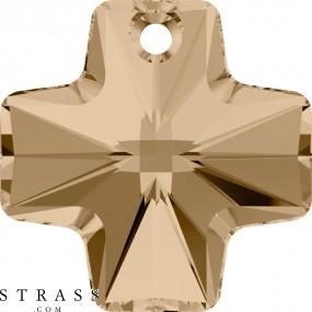 Cristaux de Swarovski 6866 Crystal (001) Golden Shadow (GSHA)