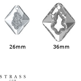 Cristaux de Swarovski 6926 MM 26,0 CRYSTAL (5377802)