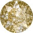 Cristaux de Swarovski 1088 Crystal (001) Gold Patina (GOLPA)