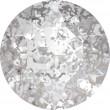 Cristaux de Swarovski 1088 Crystal (001) Silver Patina (SILPA)