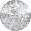 Cristaux de Swarovski 1122 Crystal (001) Silver Patina (SILPA)