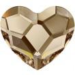 Cristaux de Swarovski 2808 Crystal (001) Golden Shadow (GSHA)