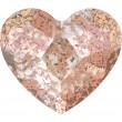 Cristaux de Swarovski 2808 Crystal (001) Rose Patina (ROSPA)