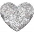 Cristaux de Swarovski 2808 Crystal (001) Silver Patina (SILPA)