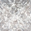 Cristaux de Swarovski 4418 Crystal (001) Silver Patina (SILPA)